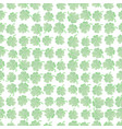st patricks clover seamless pattern green clover vector image vector image