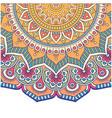 vintage mandala flower design image vector image vector image