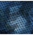 blue jean texture background with stars vector image vector image