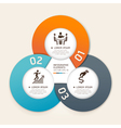 Business infographics elements circle