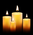 Candle Background vector image vector image