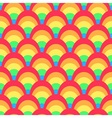 Colorful rainbow pattern vector image