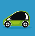 future car vehicle technology smart automatic vector image