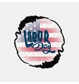 Labor day badges labels for any use vector image vector image