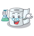 professor tissue character cartoon style vector image