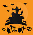 hallowen day vector image