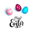 bright eggs isolated vector image vector image