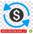 Money Turnover Icon vector image