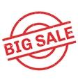 Big Sale rubber stamp vector image vector image