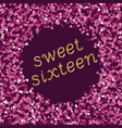 bright magenta pink glitter texture whith vector image vector image