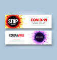 coronavirus covid19-19 sars-cov-2 on a color vector image