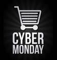 cyber monday deals vector image