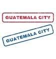 Guatemala City Rubber Stamps vector image vector image