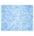 Ice grunge background with lines vector image