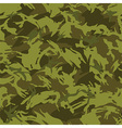 Jungle camouflage seamless pattern vector image vector image