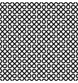 monochrome celtic knotwork seamless pattern vector image vector image