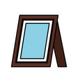 picture portrait isolated icon vector image