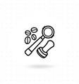 portafilter icon vector image vector image