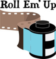 Roll Em Up vector image vector image