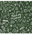 School seamless doodle pattern vector image vector image