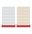 Store shelf vector image vector image