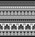 talavera poblana seamless pattern inspired vector image vector image