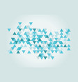triangle texture vector image