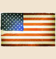 vintage american flag poster background vector image vector image
