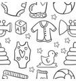 baobject doodles vector image vector image