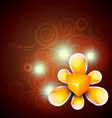 beautiful background vector image vector image