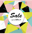 black market half price off sale graphic poster vector image vector image