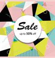 black market half price off sale graphic poster vector image