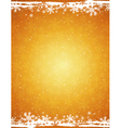 golden grunge christmas background vector image vector image
