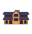 house home on white background vector image