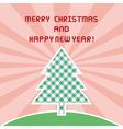 mc and hny greeting card1 vector image vector image