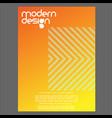 modern design minimalist background pack vector image