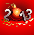 new year 2013 vector image vector image