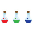 Potion set vector image vector image