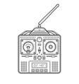 radio remote control vector image vector image