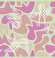 seamless camouflage color pattern vector image