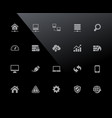 web developer icons 32px series vector image