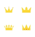 abstract cute crown vector image vector image