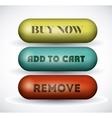 buy online button design vector image