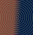 Dark background design with concentric circles vector image vector image