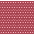 Heart shape seamless pattern tiling vector image
