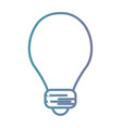 line power bulb electric energy vector image vector image