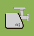 Meat Grinder Icon vector image vector image