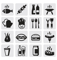 set barbecue vector image vector image