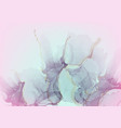 colorful pink abstract liquid marble background vector image