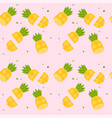 Cut pineapple pink pattern background image